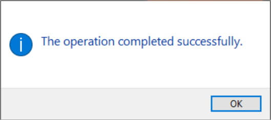 Successfully install the driver on your PC