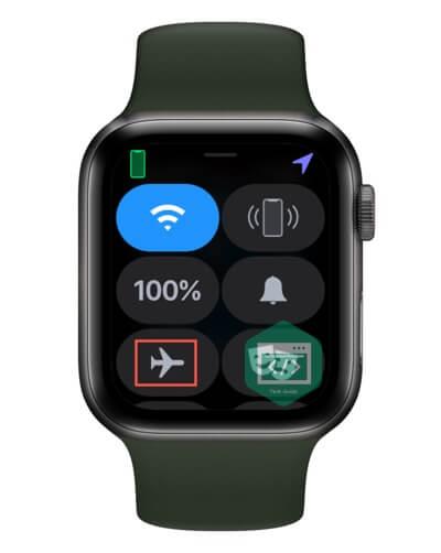 Reset the radios on Apple Watch