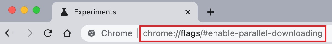 enable parallel downloading in Google Chrome