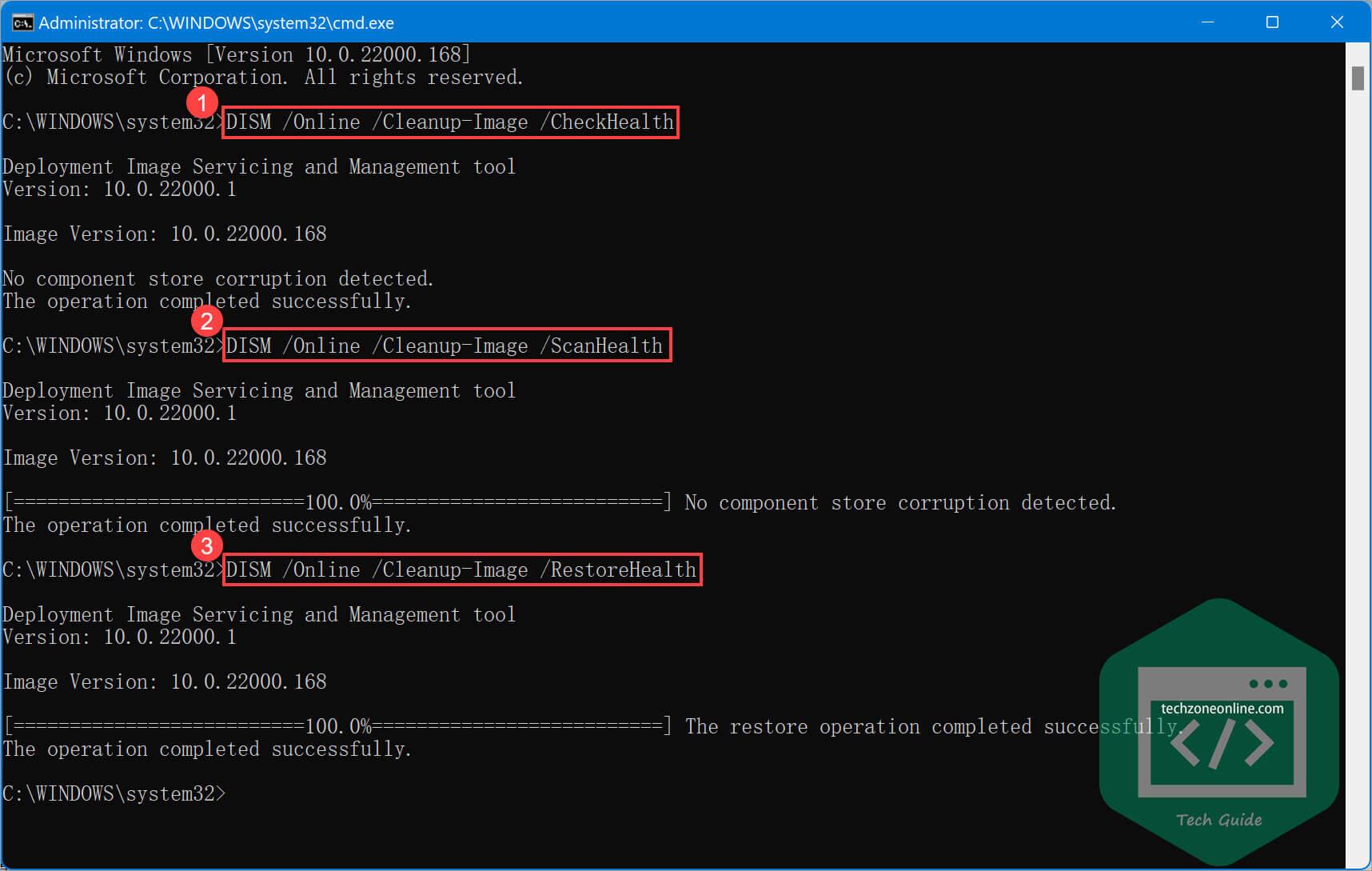 Windows 11 Run DISM command tool